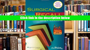 free download surgical recall fifth north american edition