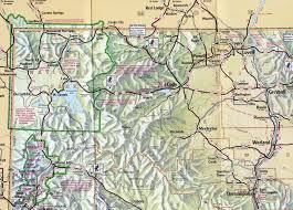 Wy Map Area Maps Cody Yellowstone Country
