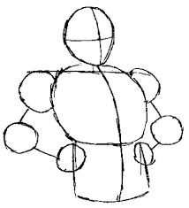 draw son goku dragon ball step step drawing