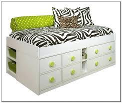 twin storage bed frame u2013 robys co