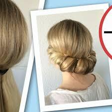 Hochsteckfrisurenen In 5 Minuten by Zack Und Fertig Hier Kommen Einfache 5 Minuten Frisuren