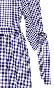 Gingham Vs Plaid Vs Tartan Gingham Cotton Dress By Rosetta Getty Moda Operandi