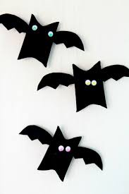 halloween bat toilet paper roll craft for kids this halloween