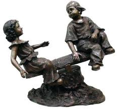 bronze garden sculptures for sale uk bronze deer garden statues