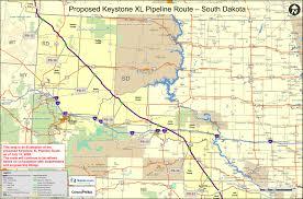Keystone Map Rosebud Sioux Tribe House Vote On Keystone Xl Pipeline An U0027act Of