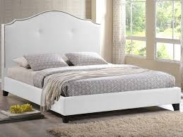 headboards for queen bed modern bedroom design with white faux