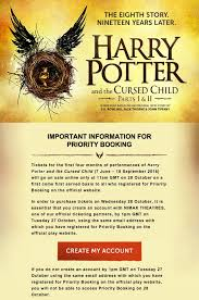harry potter cursed child u0027 buy tickets