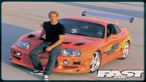 toyota fast car paul walker u0027s 1993 toyota supra stunt car has sold at auction for