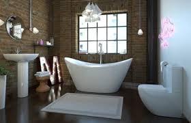 bathroom wallpaper designs 33 bathroom designs with brick wall tiles home ideas