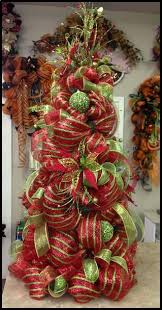 deco mesh ribbon how to decorate a christmas tree with deco mesh ribbon 3 ts1 us