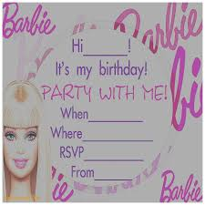 birthday cards awesome barbie birthday invitation card free
