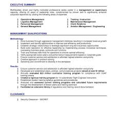 Logistics Resume Summary Resume Summary Example How To Write A Resume Summary 21 Best