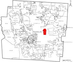 Map Of United States Labeled by File Map Of Franklin County Ohio With Bexley Labeled Png