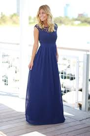 navy maxi dress navy crochet maxi dress with tulle back bridesmaid dresses