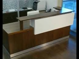 Antique Reception Desk Modern Wave Ikea Reception Desk Using White Color For Lobby