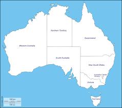 Physical Map Of Australia Australia Free Maps Free Blank Maps Free Outline Maps Free