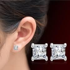 6mm stud earrings discount 6mm stud earrings ear 2017 6mm stud earrings ear on