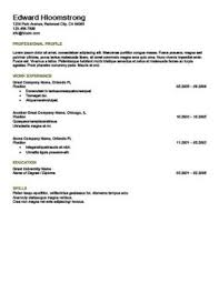 What Is A Scannable Resume Ats Friendly Resume Templates Format 27 Samples