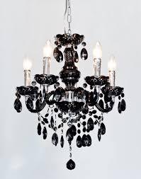 henley black crystal 5 lamp chandelier be fabulous