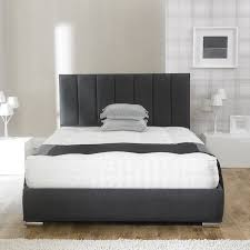 Upholstered Bed Frame Andrea Fabric Upholstered Bed Frame Luxury Fabric Beds Beds Co