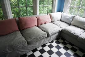 Sofa Back Pillows by Sofa Makeover Weallsew