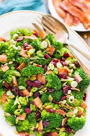 best salad recipes broccoli cranberry salad