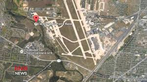 Air Force Bases United States Map by Active Shooter At Lackland Air Force Base In San Antonio Texas