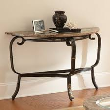 Marble Top Entryway Table Marble U0026 Granite Console U0026 Sofa Tables You U0027ll Love Wayfair