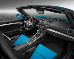 porsche boxster interior porsche boxster in riviera blue is as cool as a summer breeze