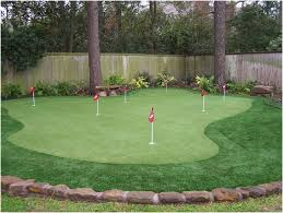 Small Backyard Putting Green Backyards Splendid Backyard Putting Greens 3 Green Kit Superb