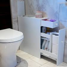 Bathroom Storage Unit White by Marko Slimline Organiser Bathroom Cupboard Cabinet White Wooden