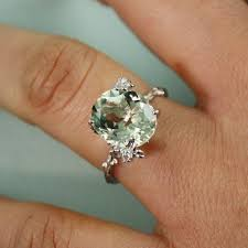 green amethyst engagement ring best 25 green amethyst rings ideas on pretty rings