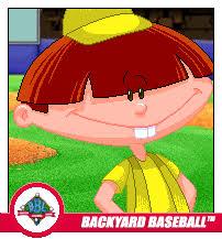 2003 Backyard Baseball Marky Dubois Backyard Sports Wiki Fandom Powered By Wikia