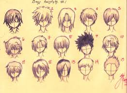 spiky anime hairstyles drawn boy spiky hair pencil and in color drawn boy spiky hair