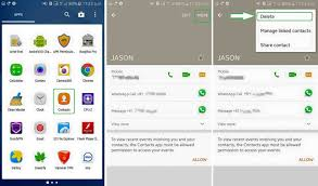 remove blocked contact from whatsapp hide block list