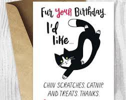 happy birthday printable cards funny cat birthday cards