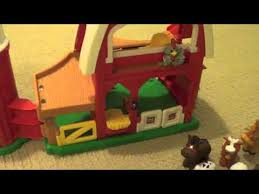 Fisher Price Little People Barn Set Little People Animal Sounds Farm Barn Made By Fisher Price Toy