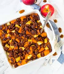 Best Side Dishes For Thanksgiving Glazed Sweet Potatoes With Honey And Pecans