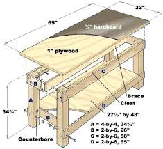 How To Make A Small Bench How To Make A Small Workbench Build A Work Table Build A Work