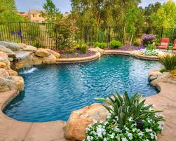 Backyard Pool Landscaping Pictures by Best 25 Pool Waterfall Ideas On Pinterest Grotto Pool Outdoor