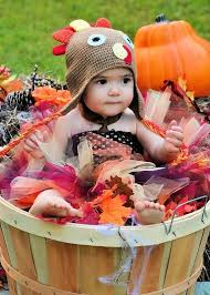 handmade turkey fall harvest color baby and toddler