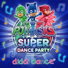 pj masks super dance party