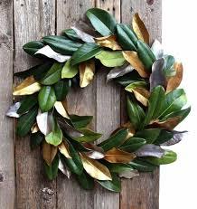 easy free diy magnolia wreath a of rainbow