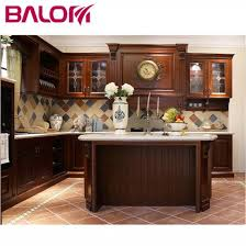 wooden kitchen cabinets modern china modern cherry solid wood kitchen cabinets design