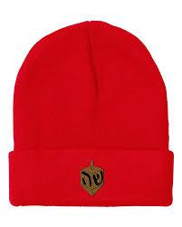 buy dreidel buy dreidel embroidery embroidered beanie skully hat cap in