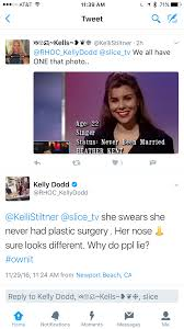 kelly dodd heather dubrow nose shamed by her