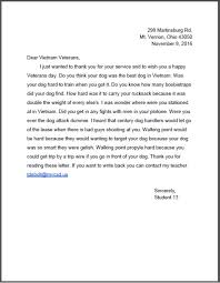 more 6th grade letters to war dog handlers