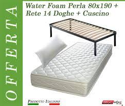 materasso in waterfoam offerta materasso water foam poliuretano espanso singolo