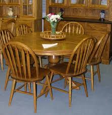 solid oak dining table best oak dining room sets home design ideas