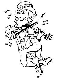 irish dance coloring pages free coloring
